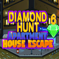 Играть Diamond Hunt 6 Apartment House Escape