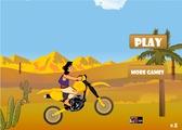 Играть Алладин на мотоцикле