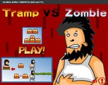 Играть Tramp vs Zombie