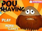 Играть Pou Shaving