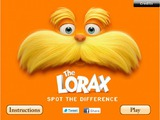 Играть The Lorax Spot the Difference