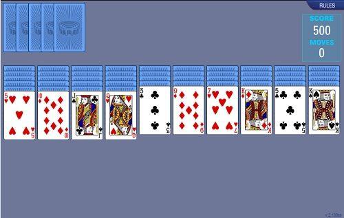 Играть 4 масти паук играть 4 масти онлайн пасьянс