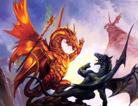 два дракона