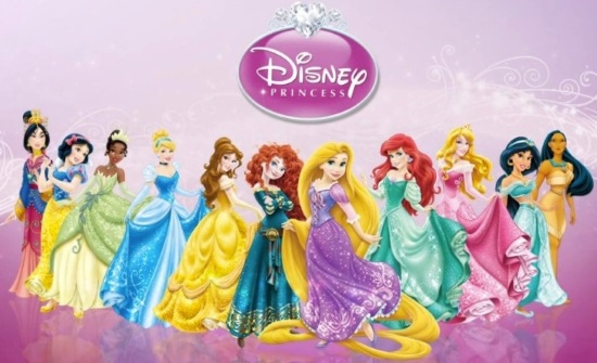 все принцессы Диснея