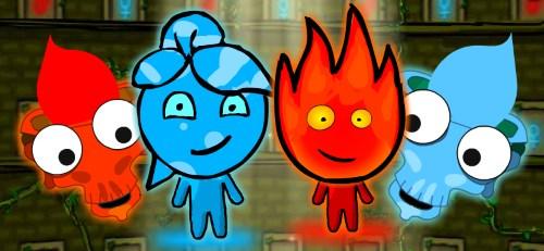 мальчик огонь и девочка вода