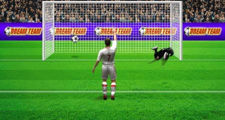 гол пенальти в игре