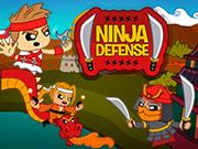 Играть Ninja Defense