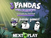 Игра 3 Pandas in Fantasy