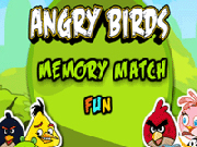 Angry Birds Memory Match Fun