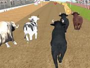 Игра Angry Bull Racing