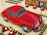Играть Classic Car Parking Driving School