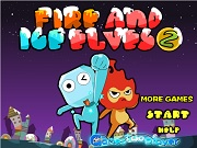 Играть Fire And Ice Elves 2