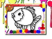 Играть Fish Coloring Book