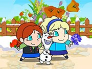 Играть Frozen Elsa Save Olaf