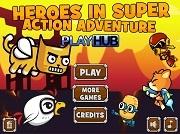 Играть Heroes in Super Action Adventure
