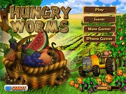Игра Hungry Worms