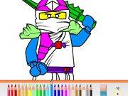 Игра Lego Ninjago Pencil Coloring