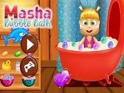 Маша и Медведь: пенная ванна для Маши