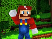 Игра Minecraft Super Mario