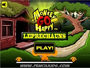 Играть Monkey Go Happy - Leprechauns