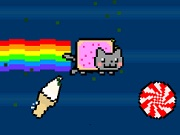Игра Nyan Cat Fly!