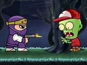 Играть Ninja Ben vs Zombies