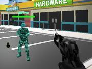 Играть Pixel Combat Multiplayer