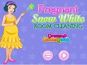 Играть Pregnant Snow White Room Cleaning