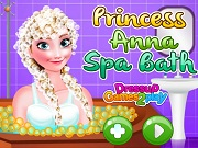 Игра Princess Anna Spa Bath