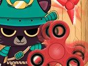 Игра Samurai Cat Spinner