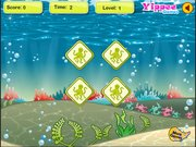 Игра Sea Fish Memory Game