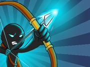 Играть Stickman Archer: Mr Bow