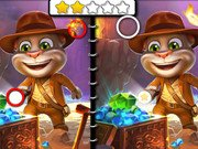 Игра Talking Tom Five Differences