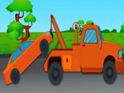 Игра Towing Trucks Differences