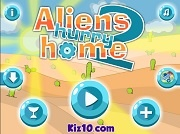 Игра Aliens Hurry Home 2