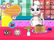 Игра Pregnant Angela Cooking Pancakes