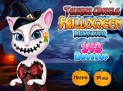 Игра Talking Angela Halloween Makeover