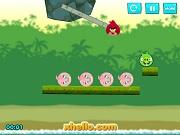 Игра Angry Birds Kick Piggies