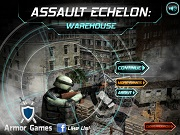 Игра Assault Echelon: Warehouse