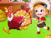 Игра Baby Hazel Thanksgiving dress up