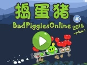 Игра Bad Piggies Online 2016