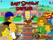 Игра Bart Simpson Defense