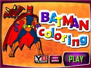 Игра Batman Coloring