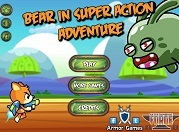 Игра Bear in Super Action Adventure