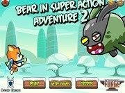 Игра Bear in Super Action Adventure 2