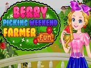 Играть Berry picking weekend farmer fun