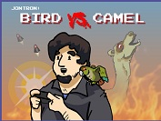 Игра Jontron: Bird vs. Camel
