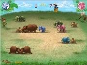 Игра Слоны против слонов