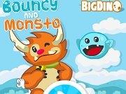 Игра Bouncy and Monstro