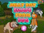 Играть Boy Escape from Dog